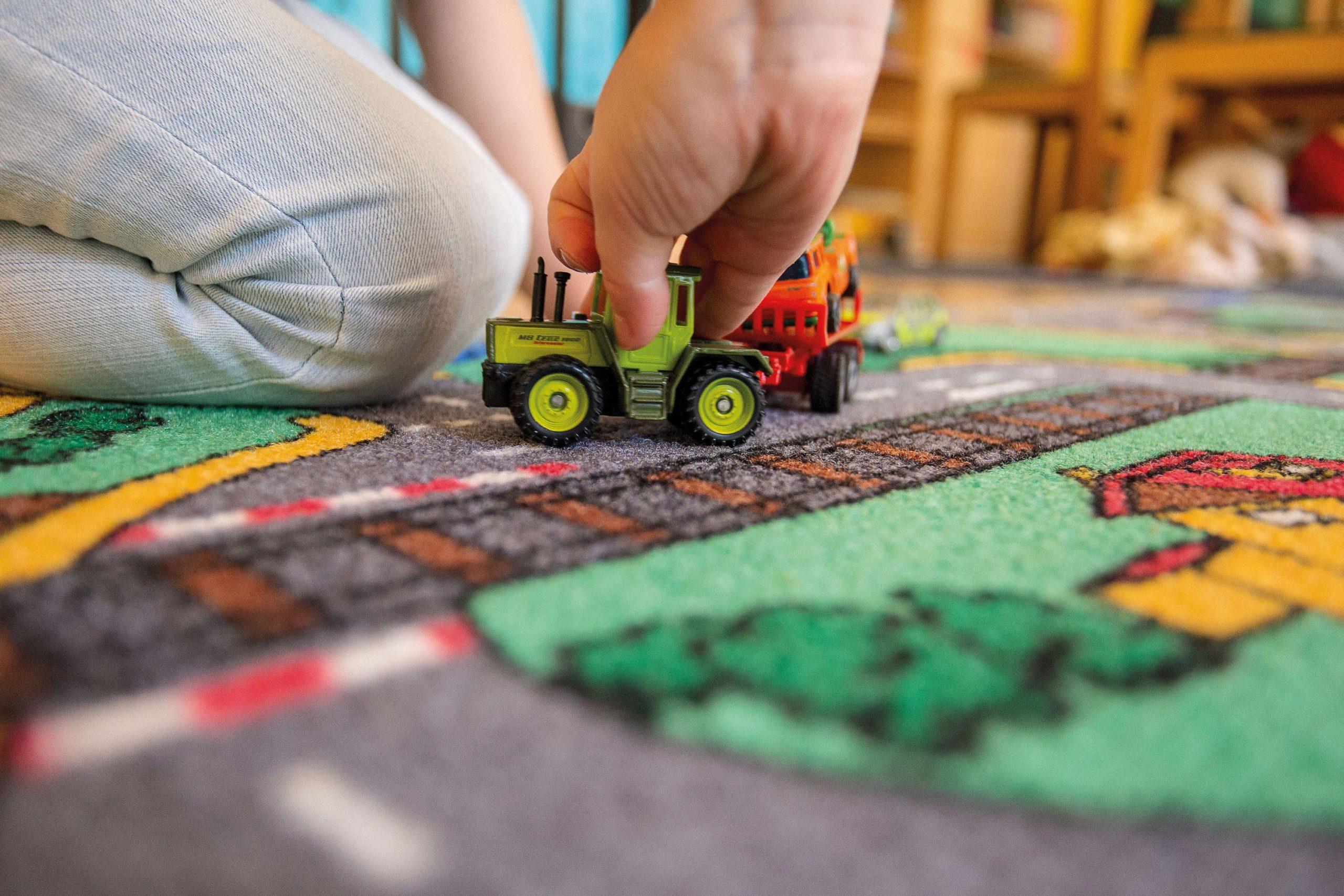 Design für Kindergärten: Imagefoto der Kita St. Ludgeri in Münster