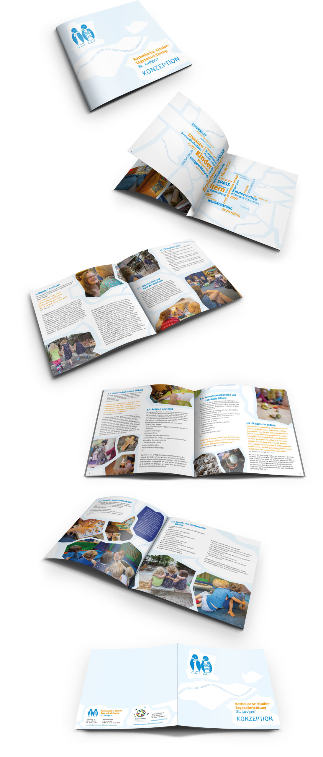 Design für Kindergärten: Konzeption der Kita St. Ludgeri in Münster